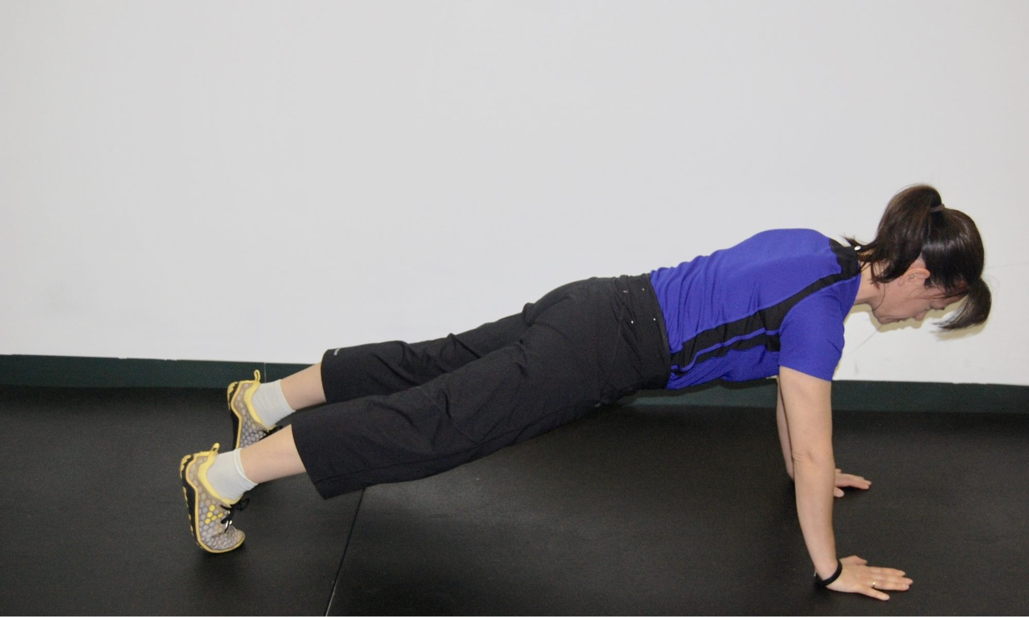 Why not try a push-up negative to test your weaknesses?